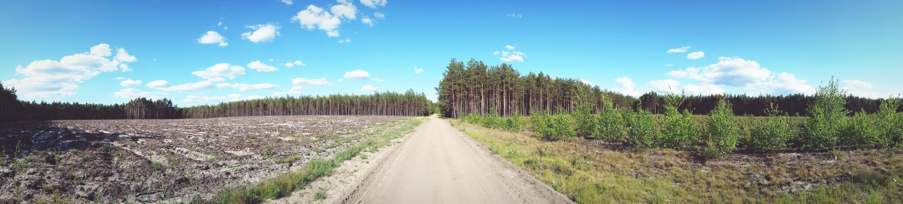Smartphonephotography Panoramic Nature Photography Road Nature_collection Nature Blue Sky Clouds Nature Colors Field