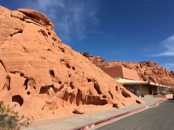 EyeEm Selects Rock Formation Rock - Object Tranquility Day Nature Tranquil Scene Outdoors Sky Physical Geography Cloud - Sky Sunlight Beauty In Nature Scenics No People Landscape Arid Climate Desert Mountain IPhoneography IPhone 6s Plus Valley Of Fire Valley Of Fire State Park