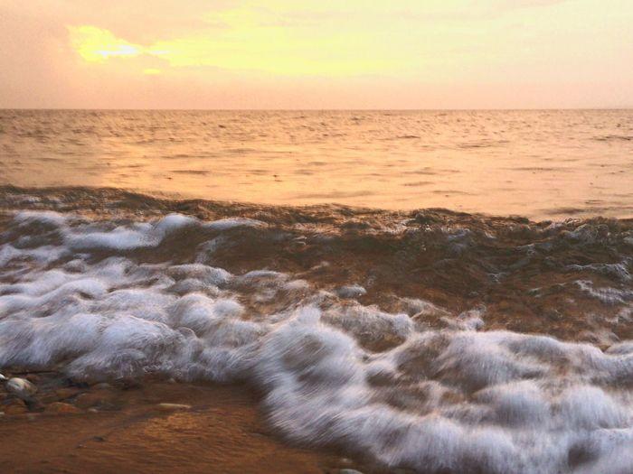 Good morning! Sun Beach Longisland Atlantic Ocean Sunrise Surf New York IPhoneography