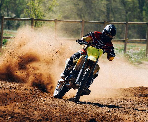 Man Extreme Moto Suzuki 450 Love Sport Speed Power Engine Motorbike Motorcycle Dust Training Racing Thor  Thormx Sx Motocross Enduro