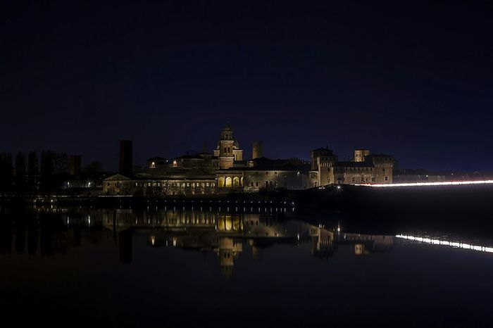 Cityscapes Mantova Photography Landscape Nightscape Skyline Bridge