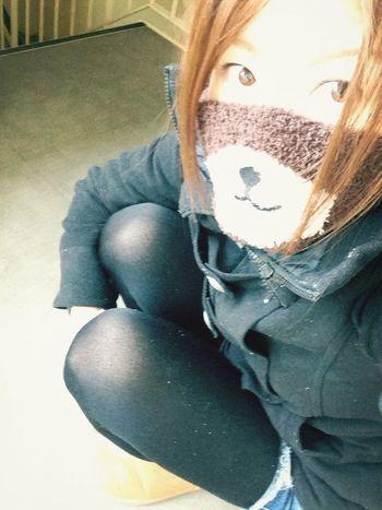 寒いね(´・ω・`)