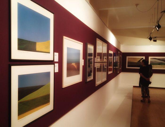 Franco Fontana Photographs Exhibition Fantastic Exhibition IPhoneography Enjoying Life Holiday EyeEm Best Shots At An Exhibition Museum Geometric Shapes