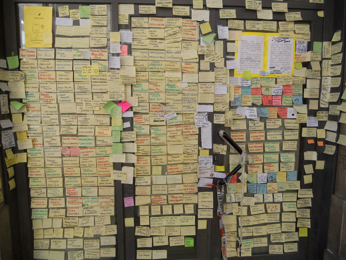 Amarcord L'Aquila Post It Italy The Troublemakers