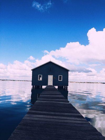 EyeEmNewHere Mm#Australia Boathouse Blue EyeEmNewHere Sommergefühle 100 Days Of Summer EyeEm Selects Summer Exploratorium