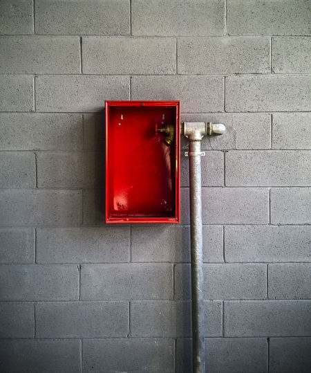 Accidents And Disasters Close-up Day Emergency Equipment Fire Alarm No People Outdoors Protection Red Safety Urgency
