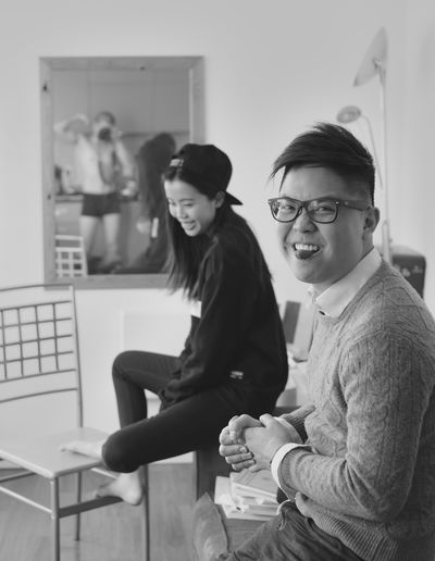 Just chilling. Awkward Blackandwhite Chilling Friends Fun Smile Togetherness Underwear😈 The Portraitist - 2018 EyeEm Awards
