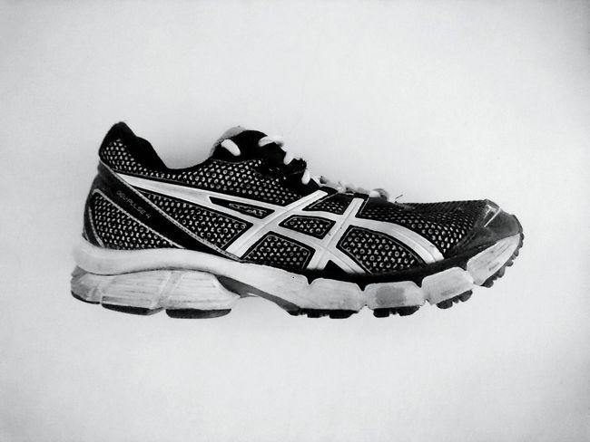 Asics On My Feet Asics Shoe Running Runners Blackandwhite Man Me StillLifePhotography EyeEmNewHere