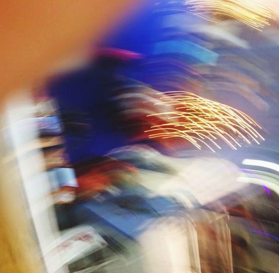 Error Blurred Motion Long Exposure Motion Speed Illuminated Night Multi Colored Defocused AI Now