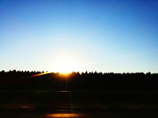 Nature Enjoying Life Sky Outdoors Godsbeauty Sunrisestalker Taking Photos Light Ilovesunrisesandsunsets Radiance Blue Wave