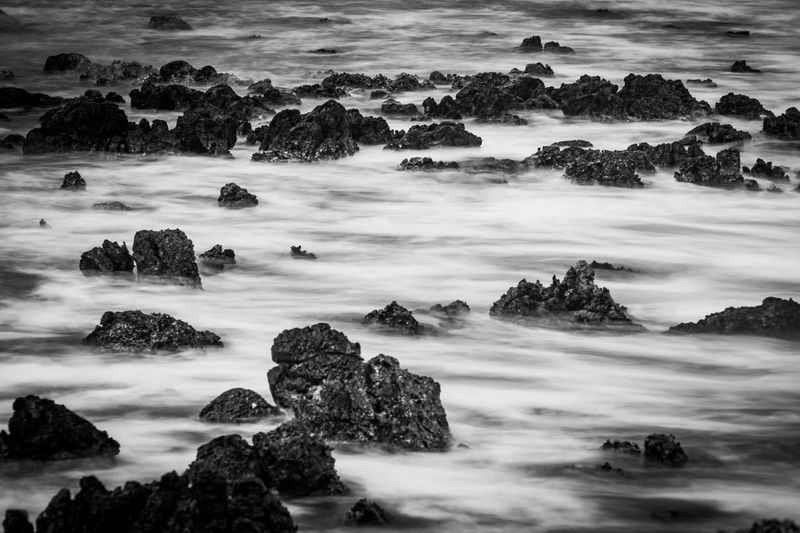 Mystery Lumix G9 Ocean Long Exposure Waves Scenics - Nature Beauty In Nature Nature Tranquility Water Rock Land Landscape Rock - Object Solid No People Outdoors Non-urban Scene