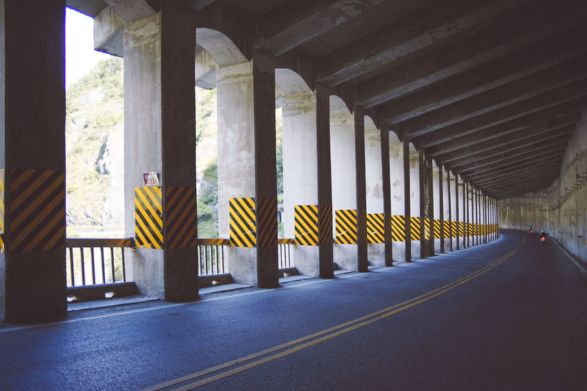 Hualien - Taroko National Park Taroko National Park Architectural Column Architecture Built Structure Day Hualien In A Row Indoors  No People Pillar