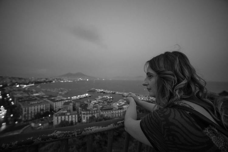 Naples admiring