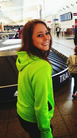 Make Magic Happen Travels Delta Across The Country Lime Green HOODIES Flying