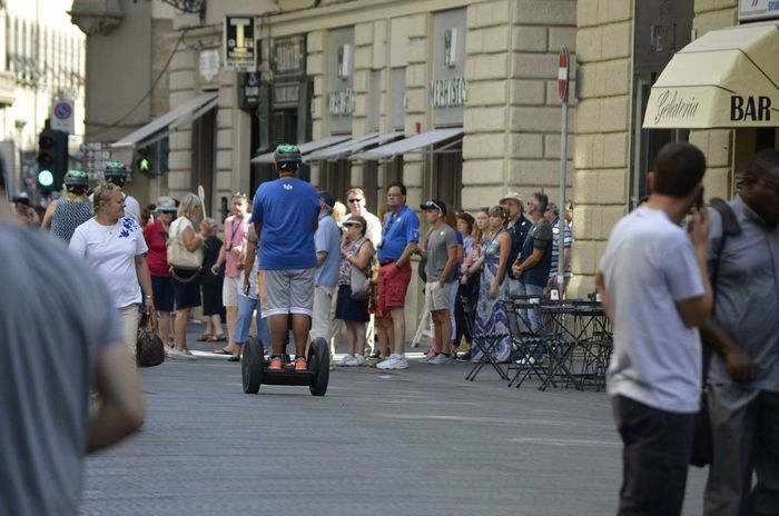 Segway Ride City Florence Taking Photos People Photography Nikonphotography Summer Tourist