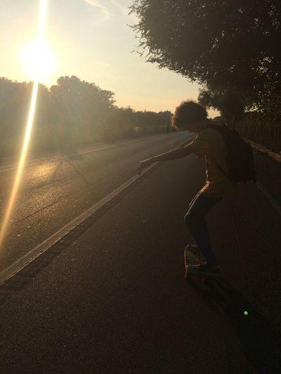 Longboarding Longboardingatsunset Longboard Sunset