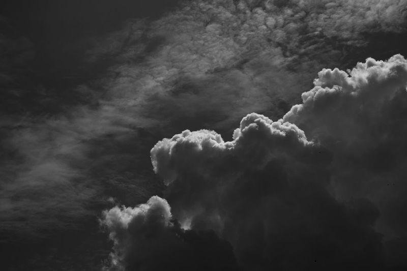 Dramatic close up of cloud