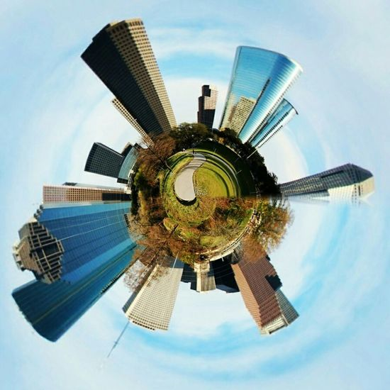 S M A L L W O R L D Houston Texas Canon Getting Inspired Smallworld Tinyplanet