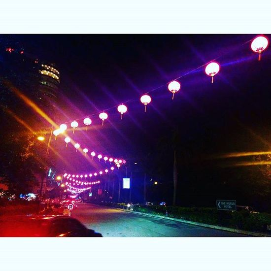 CNY is Coming Oneutama Damansara Streetphotography Lights nightlights Colourful Bandarutama @alwani_mohammad @fazleemohammad