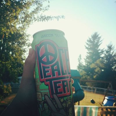 The best drink on earth? Relaxing ✌Peace✌ Tea😊