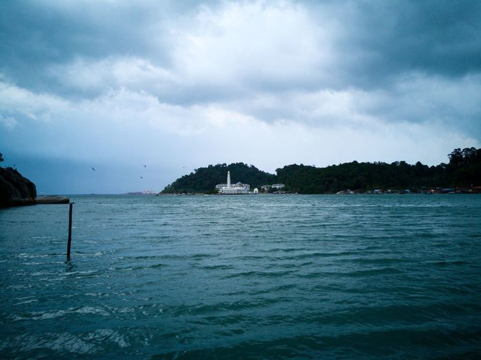 Sea Beach Nature Water Outdoors No People Cloud - Sky Rock - Object Scenics Day Beauty In Nature Tranquility Landscape Sky Vacations Horizon Over Water Clouds And Sky Nature HuaweiMate9Photography Nofilter Mobilephotography Blue Pangkor Pangkor Island Malaysia Malaysia Perspectives On Nature