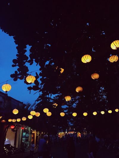 Hanoi's twins Night Lighting Equipment Low Angle View Chinese Lantern Lantern Outdoors TakenbyVin HoiAnancienttown