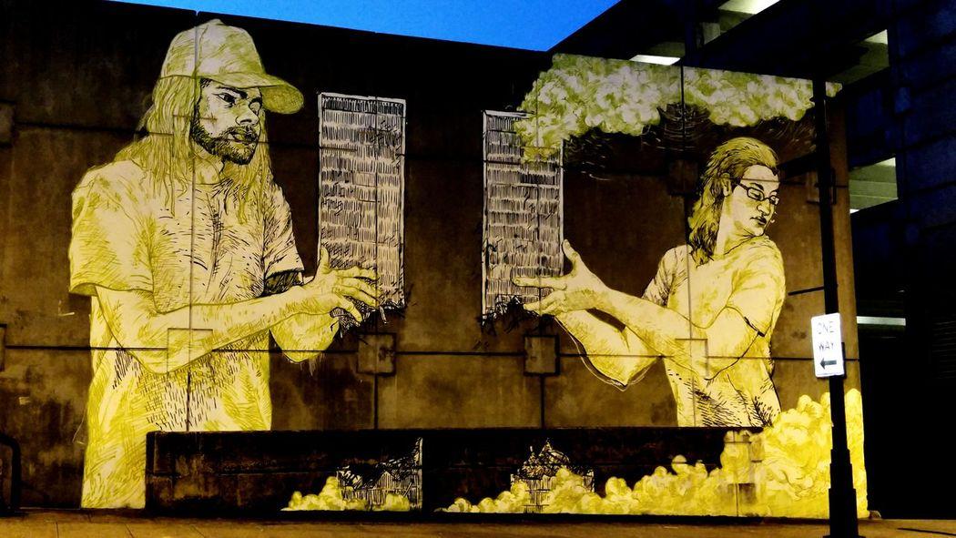 Graffiti Atlanta, Georgia 9/11