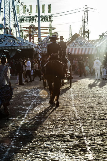 Silhouette of Horse rider at sunset. Spanish Culture Andalusia Andalusian April Beautiful Cultures Dance Dress Fashion Feria De Abril Flamenco Folklore Horse People Sevilla Seville SPAIN Spring Style Sunset Traditional Traditional Clothing Traditional Culture Traditional Festival Woman Day Women