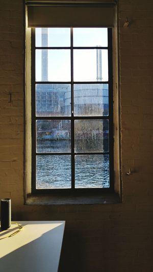 WINDOW WITH A VIEW Water Front  Office Indoor Film Production Company Berlin Spree