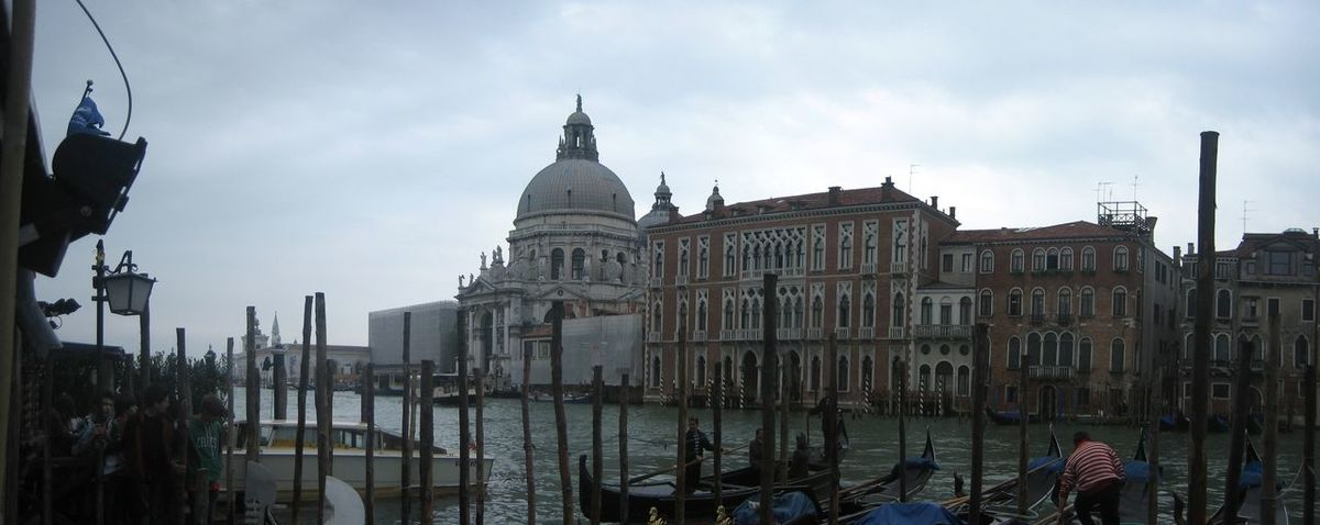 Photos of Venice, Italy 2010 Architecture Building Exterior Canal Cloud - Sky Cultures Day Dome Gondola - Traditional Boat Nautical Vessel No People Outdoors Place Of Worship Sky Transportation Travel Travel Destinations
