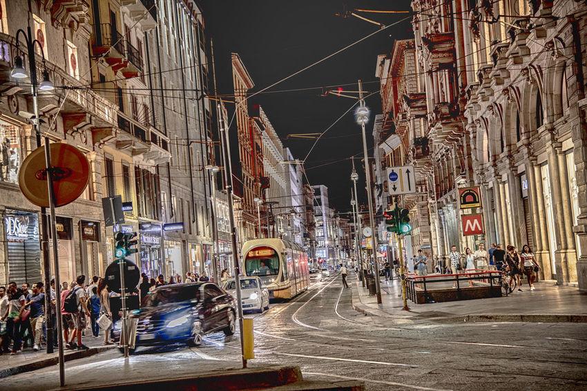 Traffico Nightmare Milano Milano Traffic Night Streetphotography City Sky Architecture