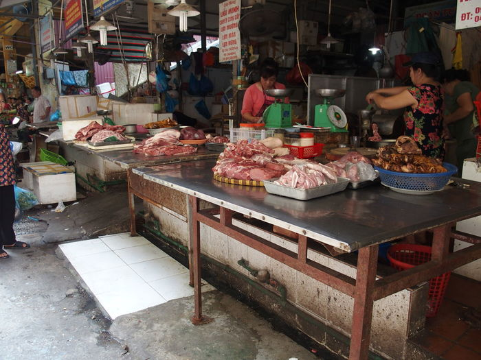Market in Hanoi, Vietnam Food Food And Drink For Sale Freshness Hanoi Large Group Of Objects Market Market Market Stall Meat Small Business Vietnam