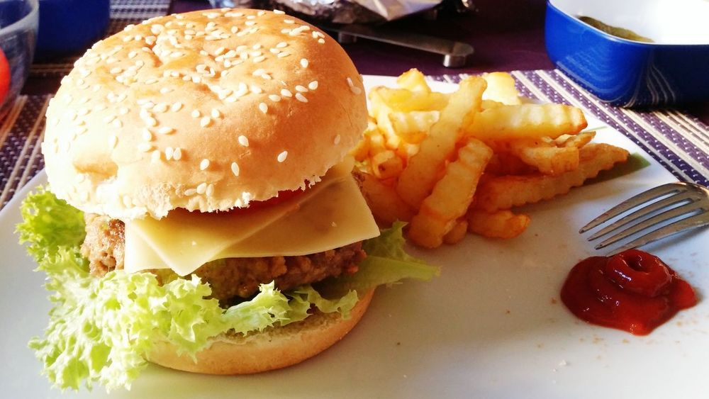 Self Made Food Burger Burgers & Fries