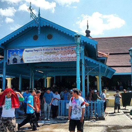 Masjid Agung Surakarta Mudik Lebaran Pulkam