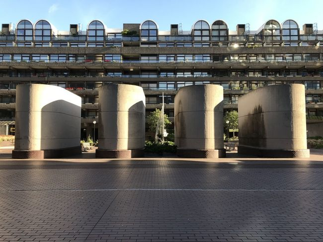Barbican Centre Architecture Building Building Exterior Built Structure City Concrete Day Glass No People Outdoors Sky Towers