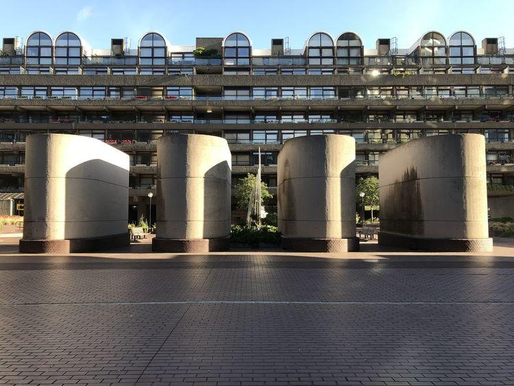 Barbican Centre Architecture Building Building Exterior Built Structure City Concrete Day Glass No People Outdoors Sky Towers