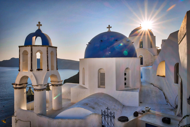 EyeEm Selects Dome Religion Business Finance And Industry Spirituality Architecture Travel Destinations Place Of Worship No People Outdoors Day Politics And Government Sky Santorini Santorini, Greece Santorini Sunset Santorini Church