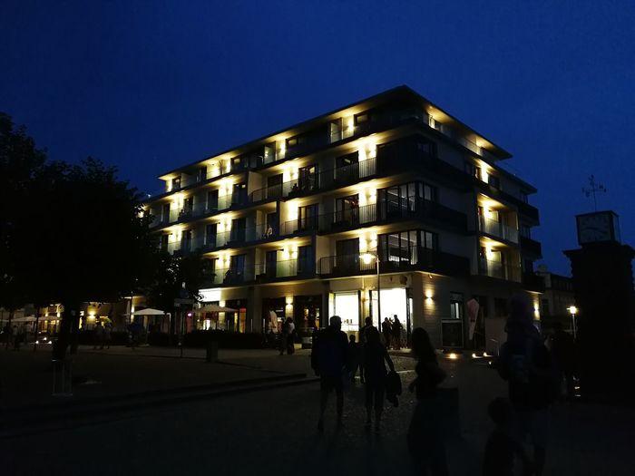 Seetel Hotel Bansin Hotel Bansin Kaiserbäder Night Lights In The Dark Arcitecture Art is Everywhere EyeEmNewHere