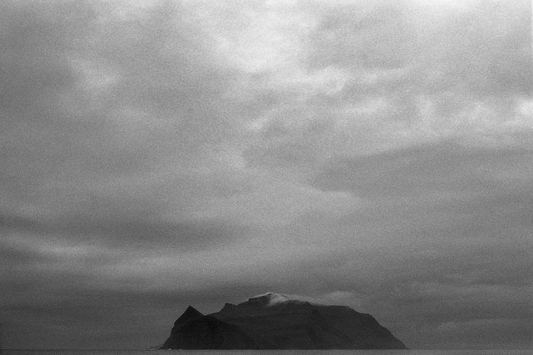 Beauty In Nature Black And White Bw Day Faroe Faroe Islands Mountain Mountain Range Mykines Nature Nature No People North Ocean Meditation Outdoors Rain Scenics Skandinavia Sky