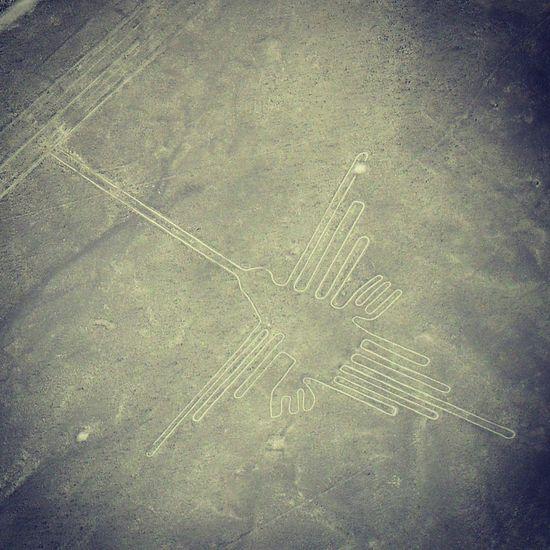 sobrevolando las líneas de Nazca, Perú