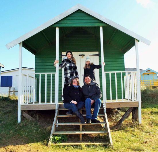 Norfolk Uk Beach Photography Oldhunstanton Family Beachhut Happy Anniversary