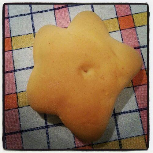 Un panino a forma di stella!! :))) Star Bred Dinner Cute funny