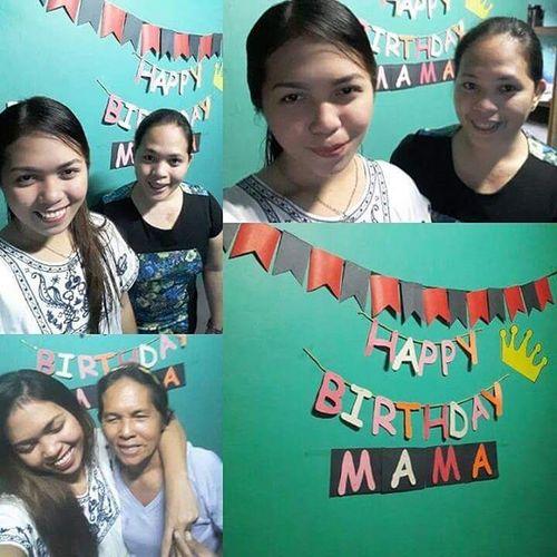 Happy Happy Birthday Mama 🎂 I love you so so so so so so so much 💕 Nasabi ko na lahat lahat kanina 😂 Padayon sa pag-uswag inahan! 👸 Longday Goodnight Birthday Birthdaygirl