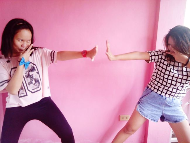 coz we're the crazy kids