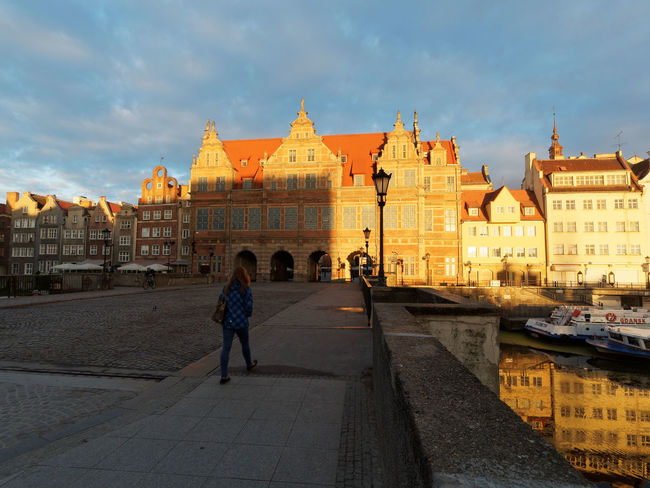 Architecture Travel Destinations Built Structure Tourism History Full Length Travel Building Exterior Sky Politics And Government Government City Lifestyles Dome Outdoors People Adults Only Real People Men Place Of Worship Gdansk, Poland