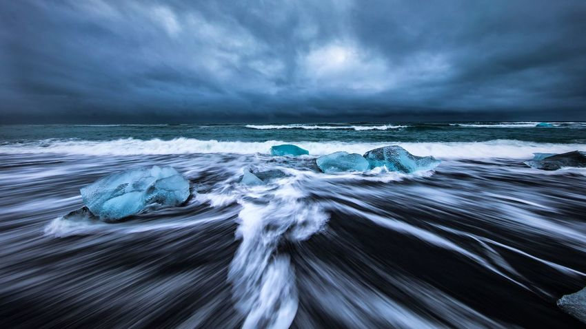 Icelandic Diamond Ice Beach EyeEmNewHere