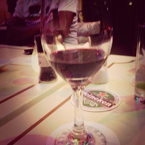 Glas of wine Drinks Dinner