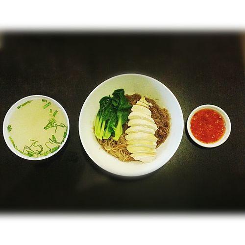 Noodles Hainanchiken Chinese Food