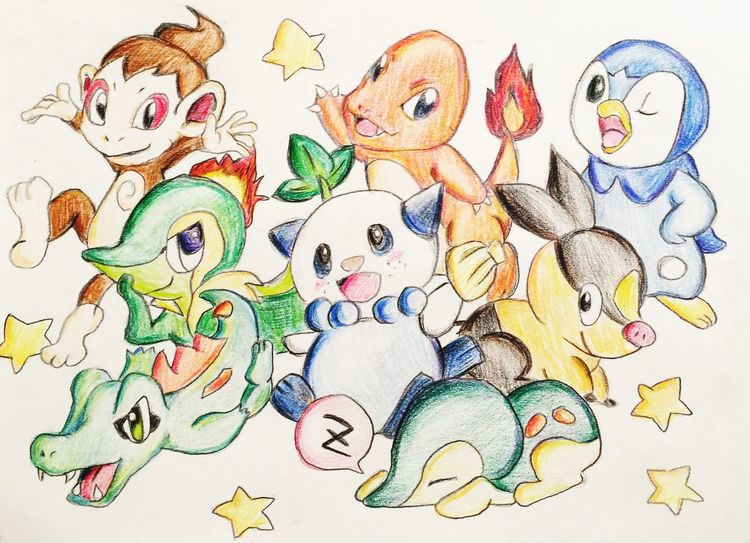 Pokémon ポケモン Illustration MyDrawing