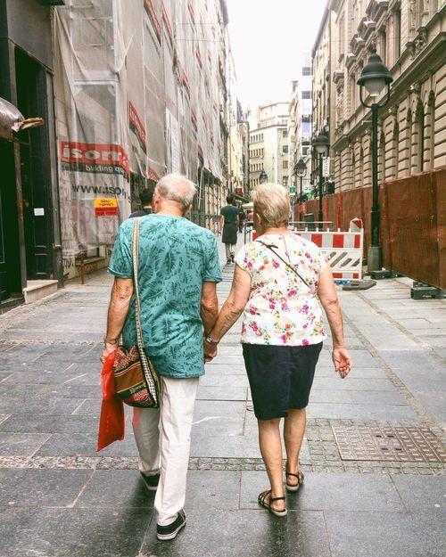 #Belgrade #couple #cute #love #photo #seniors #streetphotography #Walk
